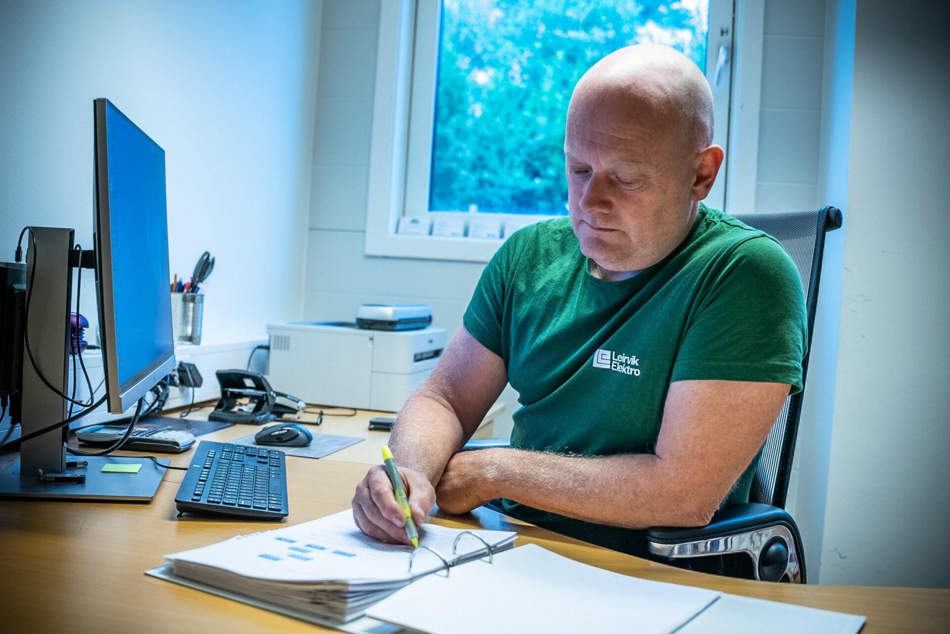 Prosjektering Leirvik Elektro